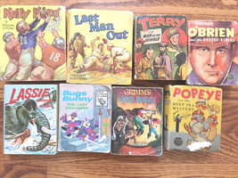 Vintage BIG LITTLE BOOKS Lot of 8 Whitman, Better Little Book Popeye - $33.47