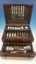 New Mitra Stainless Steel by Georg Jensen Service for 6 plus 3  servers - $800.00
