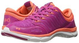 Ryka Womens Flora Walking Shoes Sneakers Pink/Coral/White 8 B(M) US NEW ... - $99.99
