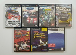 PS2 Racing 7 Game Lot SEE DESCRIPTION For Titles - $19.64