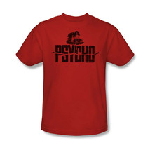 Psycho house t shirt alfred hitchcock classic movie red cotton tee uni201 thumb200