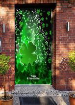 Happy St. Patrick's Day Door Cover - $39.99+