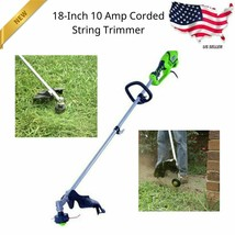 10 Amp 18-inches Straight Shaft Electric String Trimmer / Edger Strings ... - $81.86
