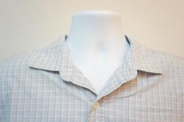 Calvin Klein Jeans Lightweight Cotton Button-Front Shirt, Blue, Men's Large 6699 - $8.21