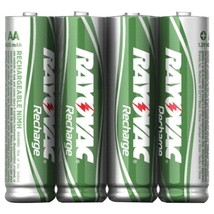Rayovac Ready-to-use Rechargeable Nimh Batteries (aaa; 600mah; 4 Pk) RVC... - $23.16