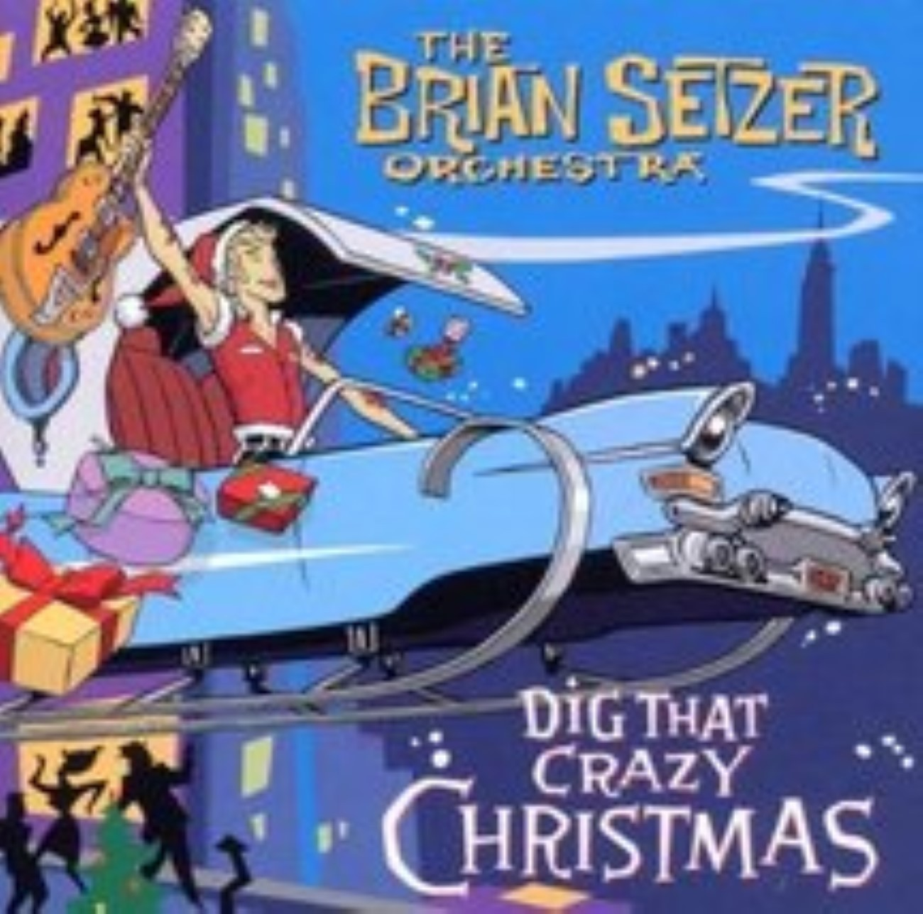 Dig That Crazy Christmas by Brian Orchestra Setzer Cd