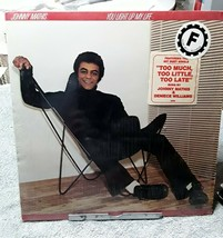 Johnny Mathis You Light Up My Life Record Vinyl SHRINKWRAP 1978 JC 35259 - $3.99