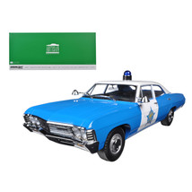 1967 Chevrolet Biscayne City of Chicago Police Department (CPD) 1/18 Die... - $75.41