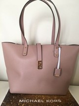 $398 Michael Kors %Authentic Fawn Karson Large Carryall Leather Shoulder... - $99.99