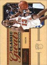 2010-11 Panini Classics Classic Greats #18 Mark Jackson NM-MT Knicks - $0.75