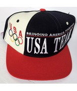 VTG Vintage 1996 Starter Olympic Games Team USA Color Block Baseball Cap... - $79.99