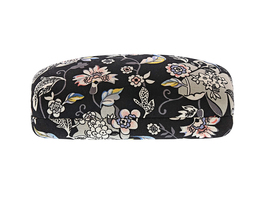 Vera Bradley Clamshell Sunglasses Eyeglass Case, Holland Garden