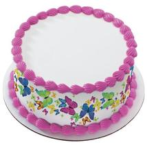 Sweet Life Butterfly Edible Cake Topper Image Strips - $9.99