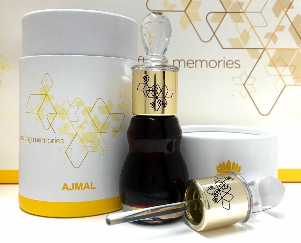 Shamamatul Amber by Ajmal Premium Grade A+ VIP Arabian Perfume Oil - 12ML Bottle