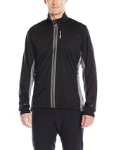 Adidas Outdoor Men's Xperior Softshell Jacket AZ6182 XL BLACK HEATHER $1... - $84.14