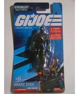 G.I. JOE - LIMITED EDITION - SNAKE EYES - MINI FIGURINE (NEW) - $15.00