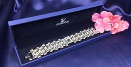 Authentic Swan Signed Swarovski Primetime Bracelet 1108913 ~Rare~ - $149.00