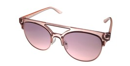 Kenneth Cole Reaction Mens Shiny Pink Sunglass Soft Square Plastic KC1322  72U - $17.99