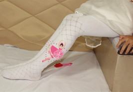 Girls Ballet Girl Pattern Hosiery Cotton Overal... - $7.98
