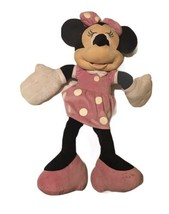 Disney Authentic Minnie Mouse Plush Toy Stuffed Animal Pink Dress 3 Foot... - $7.70