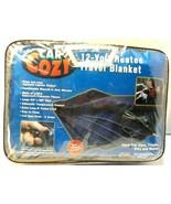 "Car Cozy 2 12-Volt Heated Travel Blanket (Navy, 42"" x 58"") Intermark Wor... - $23.20"