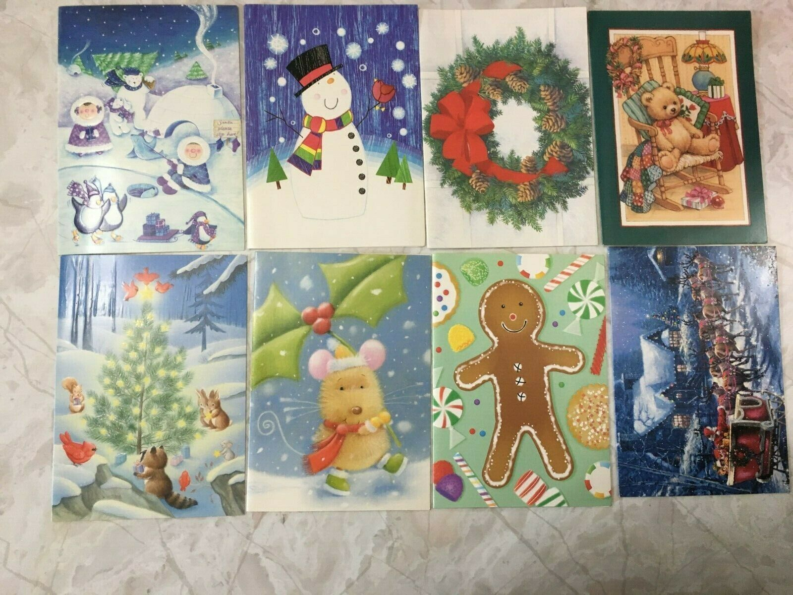 LOT OF 21 Holiday Greeting Cards CHRISTMAS Assorted Paper Magic Group - $14.50