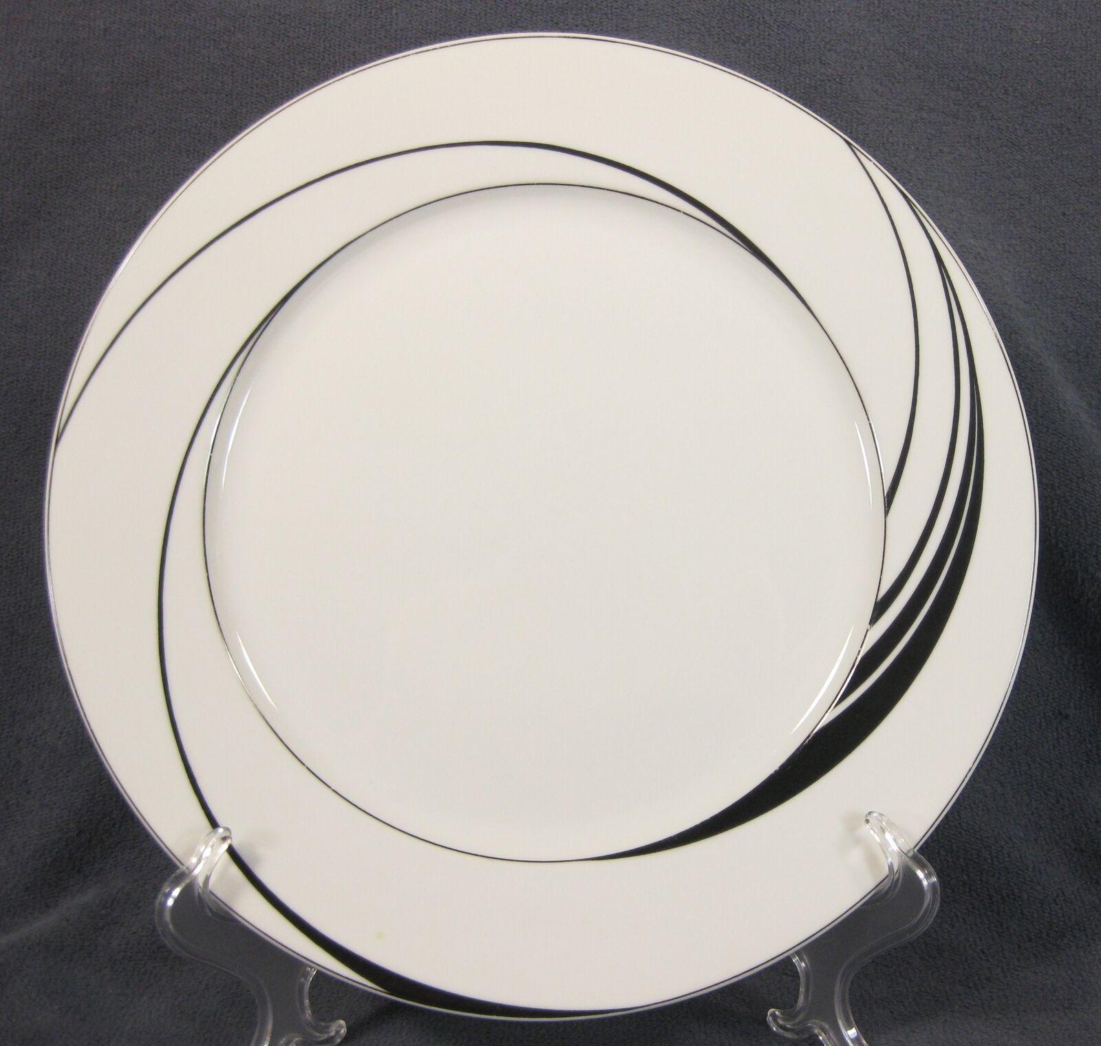 Block White Pearl Dinner Plates Spal Jewels Black Swirls Jack Prince Portugal