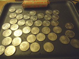 1999-P ROLL OF CONNECTICUT QUARTERS  >> COMBINED SHIPPING < - $14.36