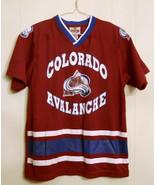 COLORADO AVALANCHE Youth HOCKEY JERSEY NHL Mighty Mac Winning Goal LARGE... - $19.75
