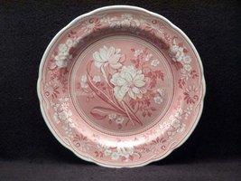 Spode Blue Room Georgian Cranberry Dinner Plate(s) Botanical - $49.49