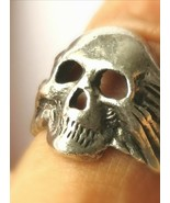 *jinn ring*  witchcraft vessel DRUID owned ~ HOLDS SACRED ENTITY SIZE US... - $170.82