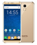 "oukitel k5000 4gb 64gb Gold octa core 16mp fingerprint 5.7"" android 4g s... - $159.99"