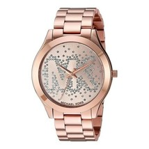 Michael Kors Women's Watch Ladies Rose Gold Stainless Steel Bracelet MK3591 - $261.13