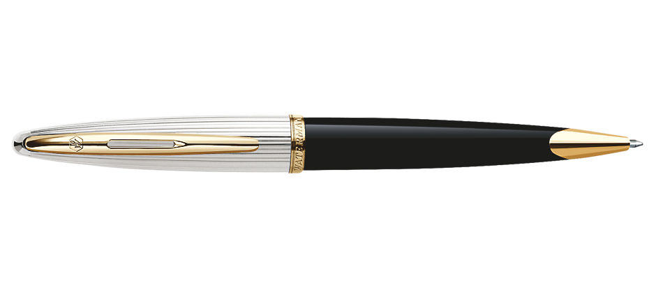 Waterman Paris CARENE DELUXE BLACK GT Fountain/Roller Ball/Ballpoint Pen image 2
