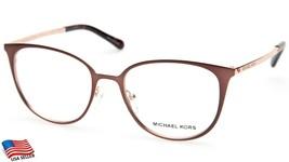 New Michael Kors Mk 3017 Lil 1188 Brown Eyeglasses Frame 51-18-140mm - $74.24