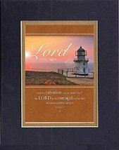 GoodOldSaying  Poem for Inspirations - The Lord is my light . . . and my salvati - $11.14