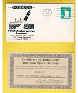 POSEIDON 1st UNDERWATER LAUNCH CAPE CANAVERAL AMERICAN SPACE HERITAGE WI... - $3.98