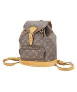 Authentic LOUIS VUITTON Montsouris MM Monogram Backpack Bag #35477 - $695.00