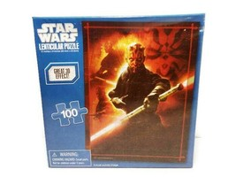 Star Wars Lenticular 3D Effect Puzzle Darth Maul 100pc - $5.89