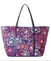 Vera Bradley Trimmed Vera Traveler KATALINA PINK Tote Bag XL NEWwt - $58.49