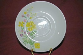 Noritake 1979 Craftstone Flower Power Saucer #8775 - $2.76