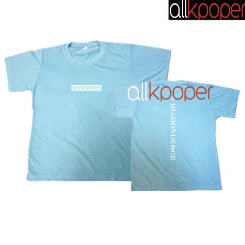 9f523b874d7a KPOP Seventeen T-shirt DIAMOND EDGE Concert Tshirt Letter Tee HOSHI THE8 DINO  DK
