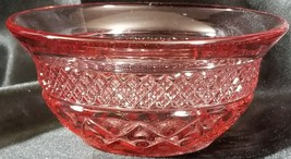 "Imperial Glass CAPE COD PINK Finger Bowl 5"" wide x 2.25"" tall - $46.71"