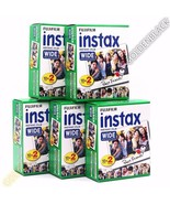 100 x Shots Fuji Fujifilm Instax Wide Film for Fujifilm 300 210 200 100 - $103.93