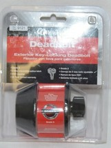 Ultra Security Deadbold Exterior Key Locking Deadbolt Oil Rubbed Bronze image 1