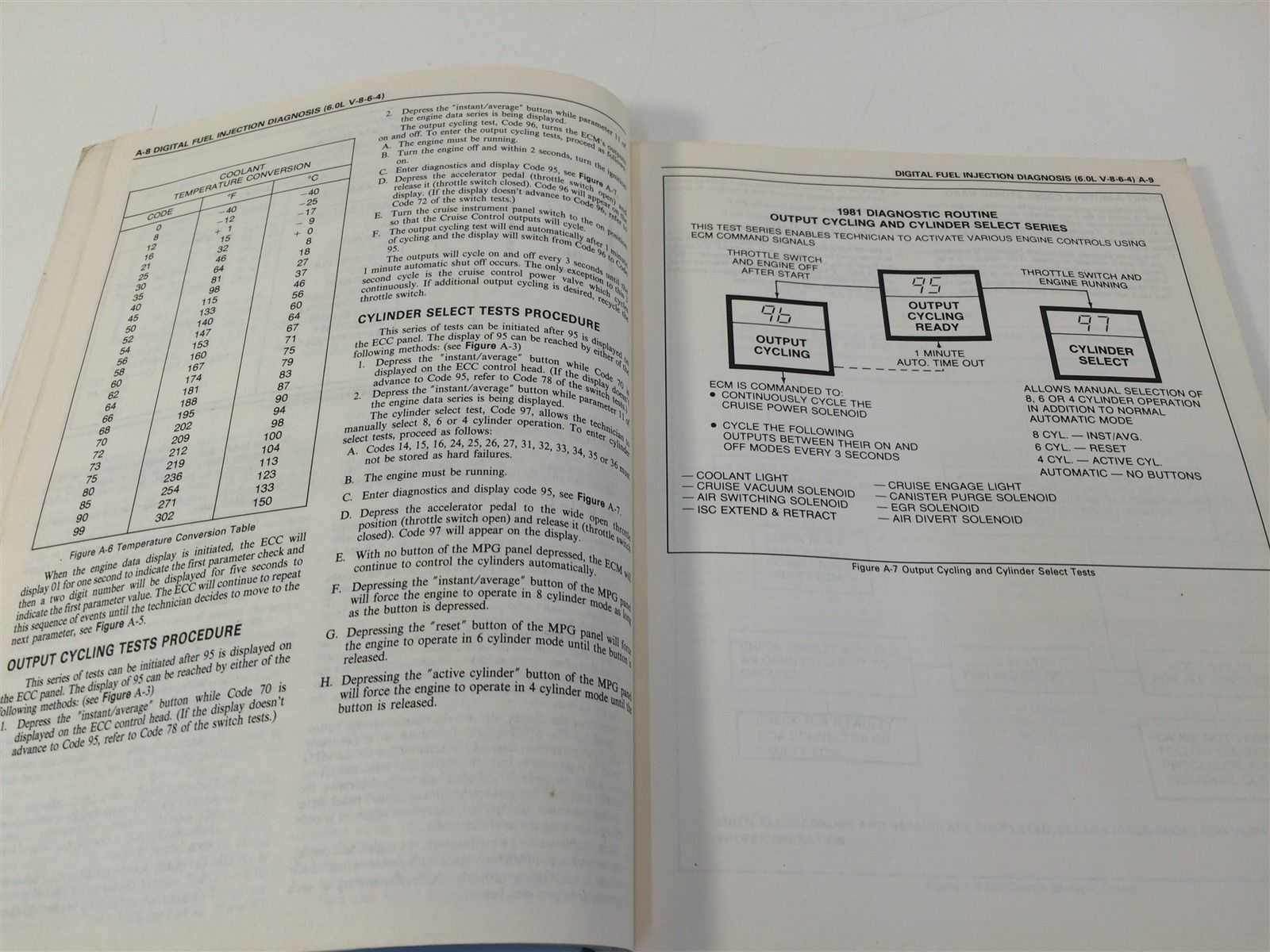 1981 Cadillac Digital Fuel Injection And Computer Command Control Manual Supplem