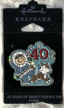 2019 Hallmark 40 Years Of Frosty Friends Collectible Limited Pin Eskimo New - $11.83
