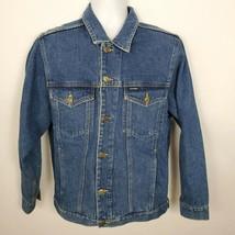 Giordano Blues Jean Trucker Jacket Men's Size L Blue Denim - $29.69