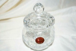 Gorham Crystal Floral Garden Sugar Bowl - $27.71