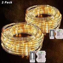 YUJENY LED Rope Lights String Lights-40Ft 120 LEDs Battery Operated (Yel... - $33.46